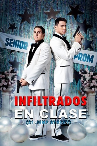 "Poster for the movie ""Infiltrados en clase"""