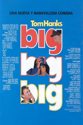 "Poster for the movie ""Big"""
