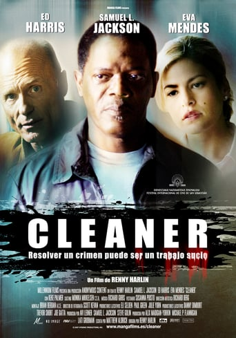 "Poster for the movie ""Cleaner"""