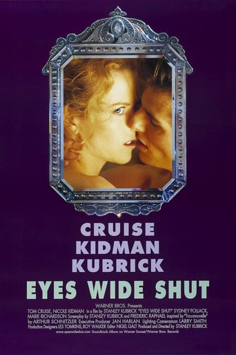 "Poster for the movie ""Eyes wide shut"""