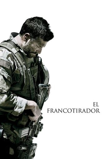 "Poster for the movie ""El francotirador"""