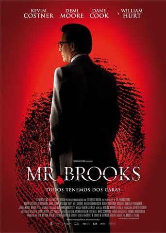 "Poster for the movie ""Mr. Brooks"""