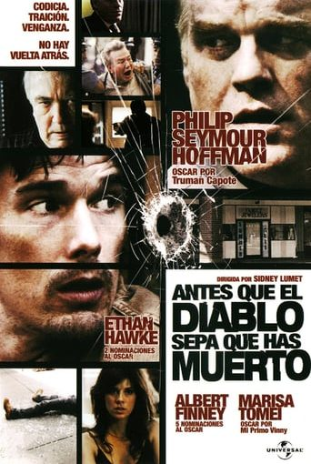 "Poster for the movie ""Antes que el diablo sepa que has muerto"""