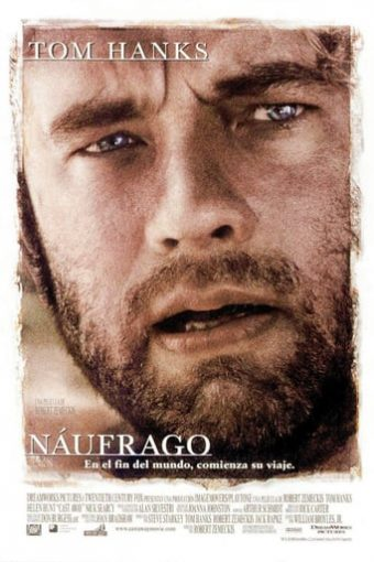 "Poster for the movie ""Náufrago"""