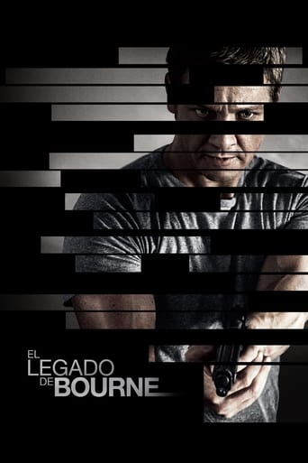 "Poster for the movie ""El legado de Bourne"""