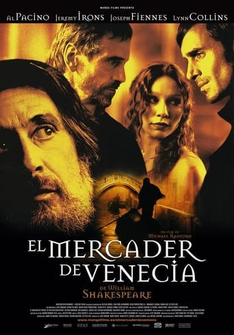 Poster for the movie «El mercader de Venecia»