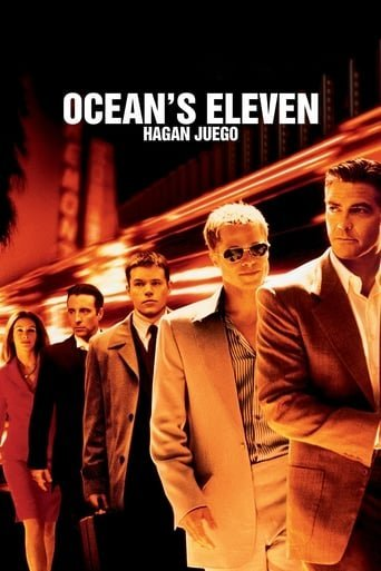 "Poster for the movie ""Ocean's Eleven. Hagan juego"""
