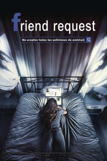 "Poster for the movie ""Friend Request"""