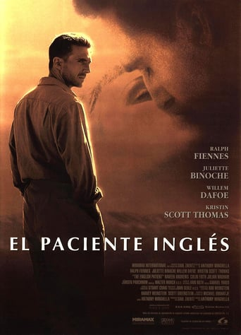 "Poster for the movie ""El paciente inglés"""