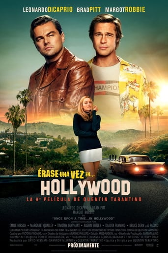 "Poster for the movie ""Érase una vez en Hollywood"""
