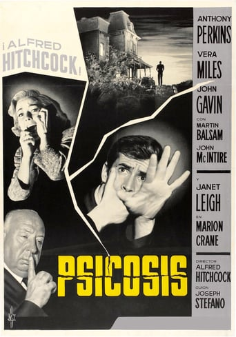 "Poster for the movie ""Psicosis"""