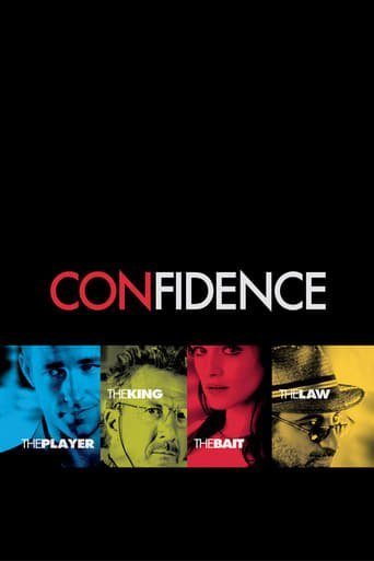 """Poster for the movie """"Confidence"""""""