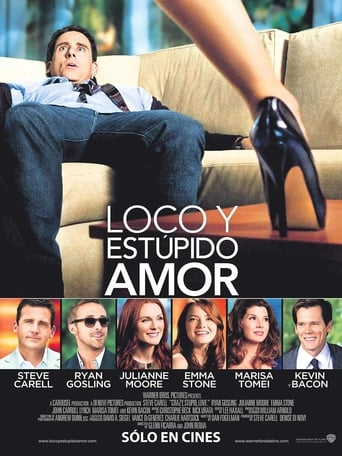 "Poster for the movie ""Loco y Estúpido Amor"""
