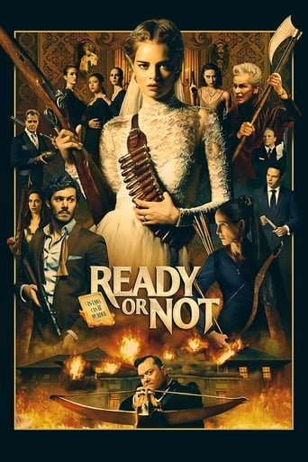 """Poster for the movie """"Ready or Not"""""""