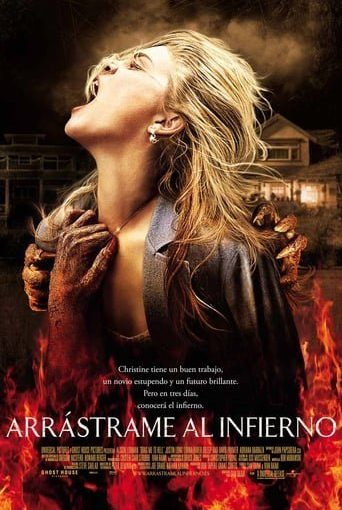 "Poster for the movie ""Arrástrame al infierno"""