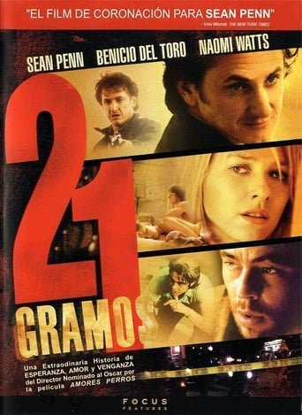 """Poster for the movie """"21 gramos"""""""