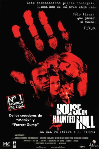 "Poster for the movie ""House on Haunted Hill"""