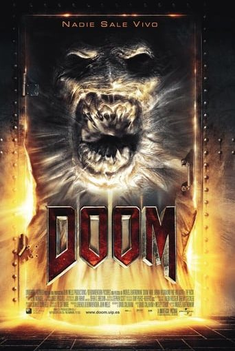 """Poster for the movie """"Doom"""""""