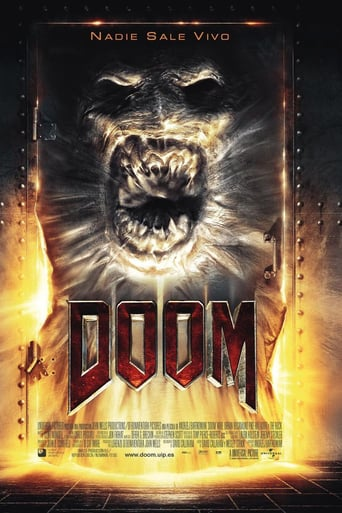 "Poster for the movie ""Doom"""