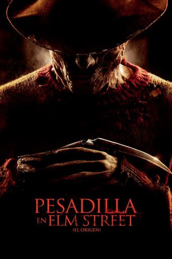 "Poster for the movie ""Pesadilla en Elm Street (El origen)"""