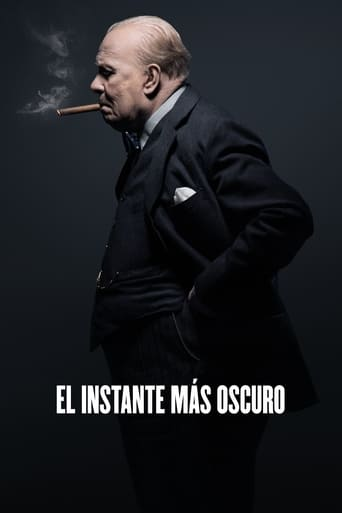Poster for the movie «El instante más oscuro»