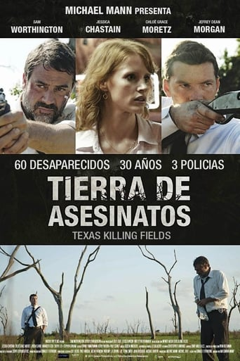 "Poster for the movie ""Tierra de asesinatos"""