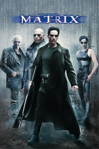 "Poster for the movie ""Matrix"""