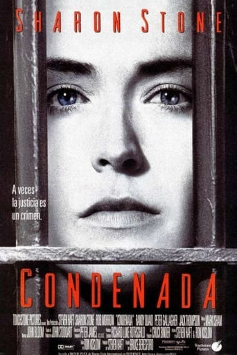 "Poster for the movie ""Condenada"""