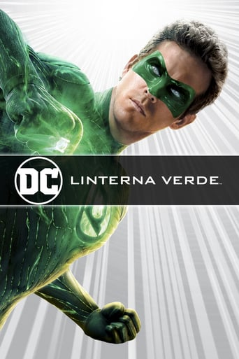 "Poster for the movie ""Linterna verde"""