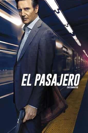 "Poster for the movie ""El pasajero"""