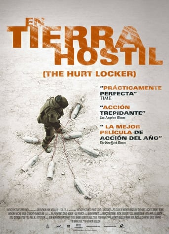 "Poster for the movie ""En tierra hostil"""