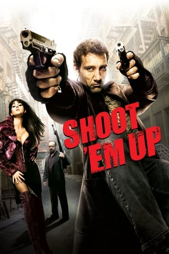 "Poster for the movie ""Shoot 'Em Up (En el Punto de Mira)"""