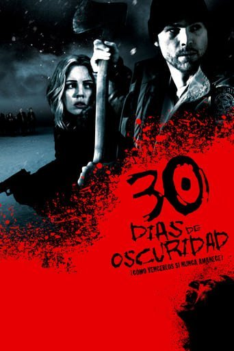 "Poster for the movie ""30 días de oscuridad"""