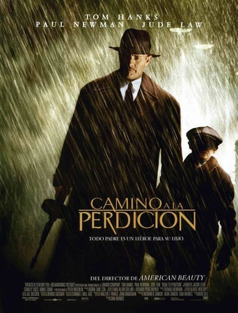 "Poster for the movie ""Camino a la perdición"""