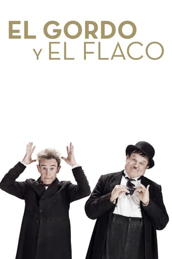 "Poster for the movie ""El Gordo y el Flaco (Stan & Ollie)"""