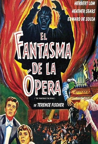 "Poster for the movie ""El fantasma de la ópera"""