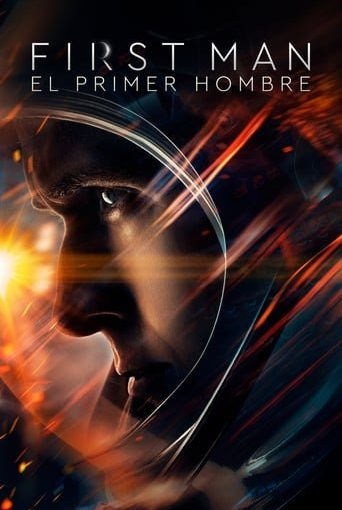 "Poster for the movie ""First Man (El primer hombre)"""