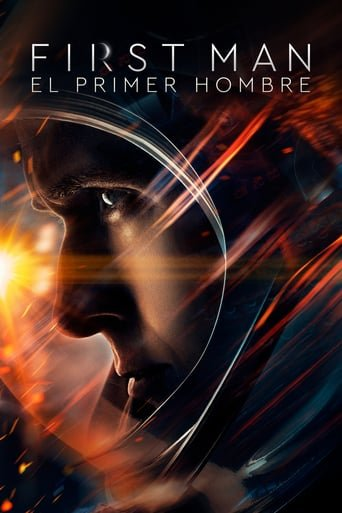 Poster for the movie «First Man (El primer hombre)»