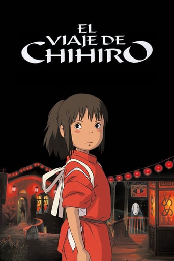 "Poster for the movie ""El viaje de Chihiro"""