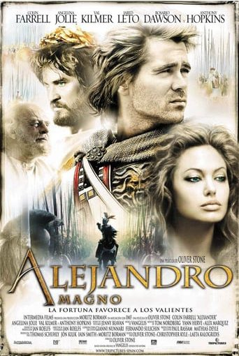 "Poster for the movie ""Alejandro Magno"""