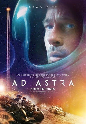 "Poster for the movie ""Ad Astra"""