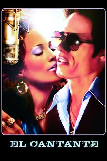 Poster for the movie «El cantante»