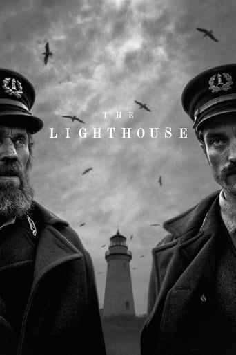 "Poster for the movie ""The Lighthouse"""