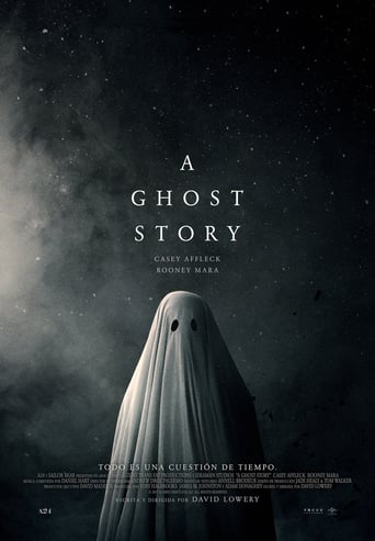 "Poster for the movie ""A ghost story"""