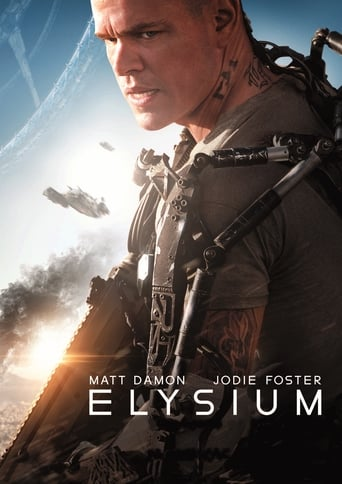 "Poster for the movie ""Elysium"""