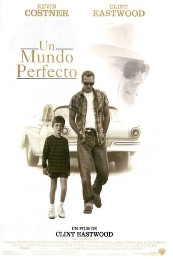 "Poster for the movie ""Un mundo perfecto"""
