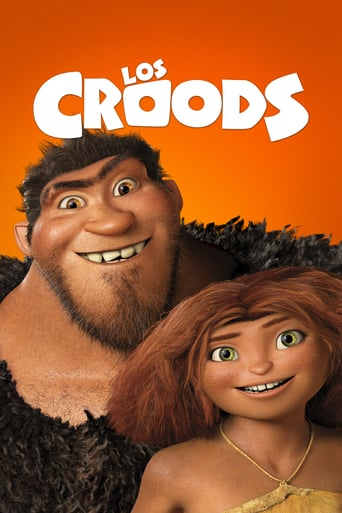 """Poster for the movie """"Los Croods"""""""