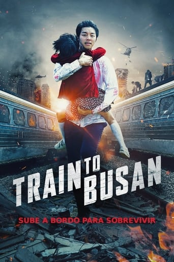 """Poster for the movie """"Tren a Busan"""""""