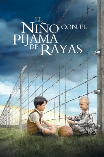 "Poster for the movie ""El niño con el pijama de rayas"""