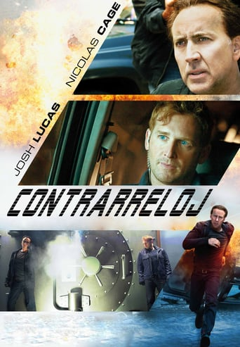 "Poster for the movie ""Contrarreloj"""